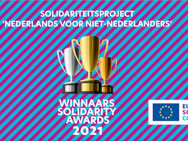 We are the WINNERS of EU SOLIDARITY AWARDS 2021 !