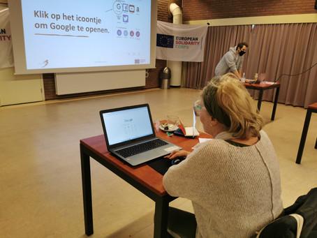 """DIGITAL SKILLS FOR ELDERLIES"" Solidarity Workshop Day ""WEB SEARCH"""