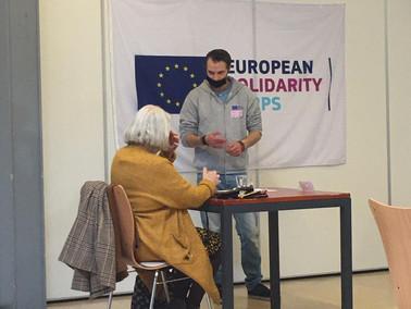 "Solidarity Workshop Day ""Email/Gmail"". ""DIGITAL SKILLS FOR ELDERLIES"""