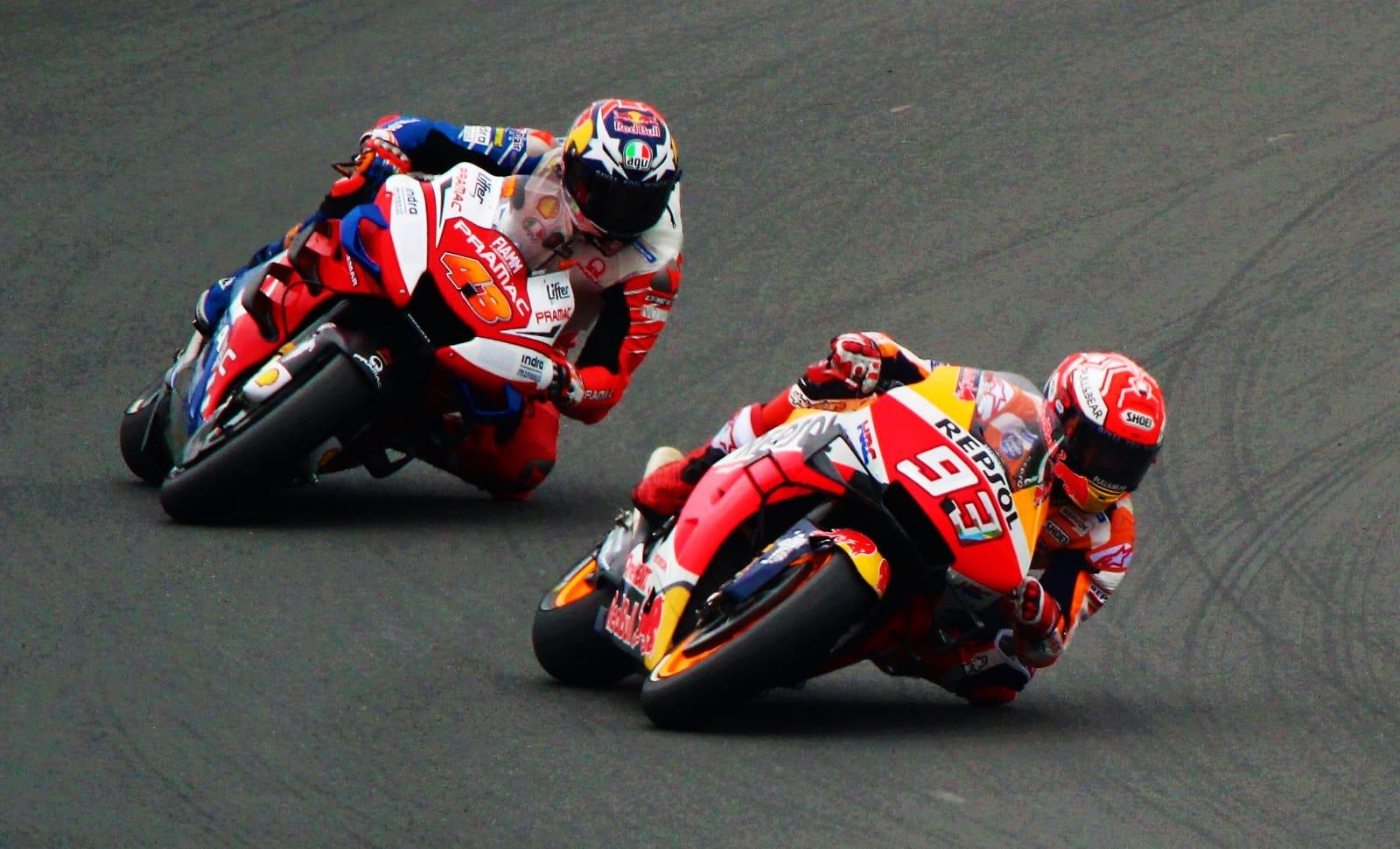 moto gp de france la course
