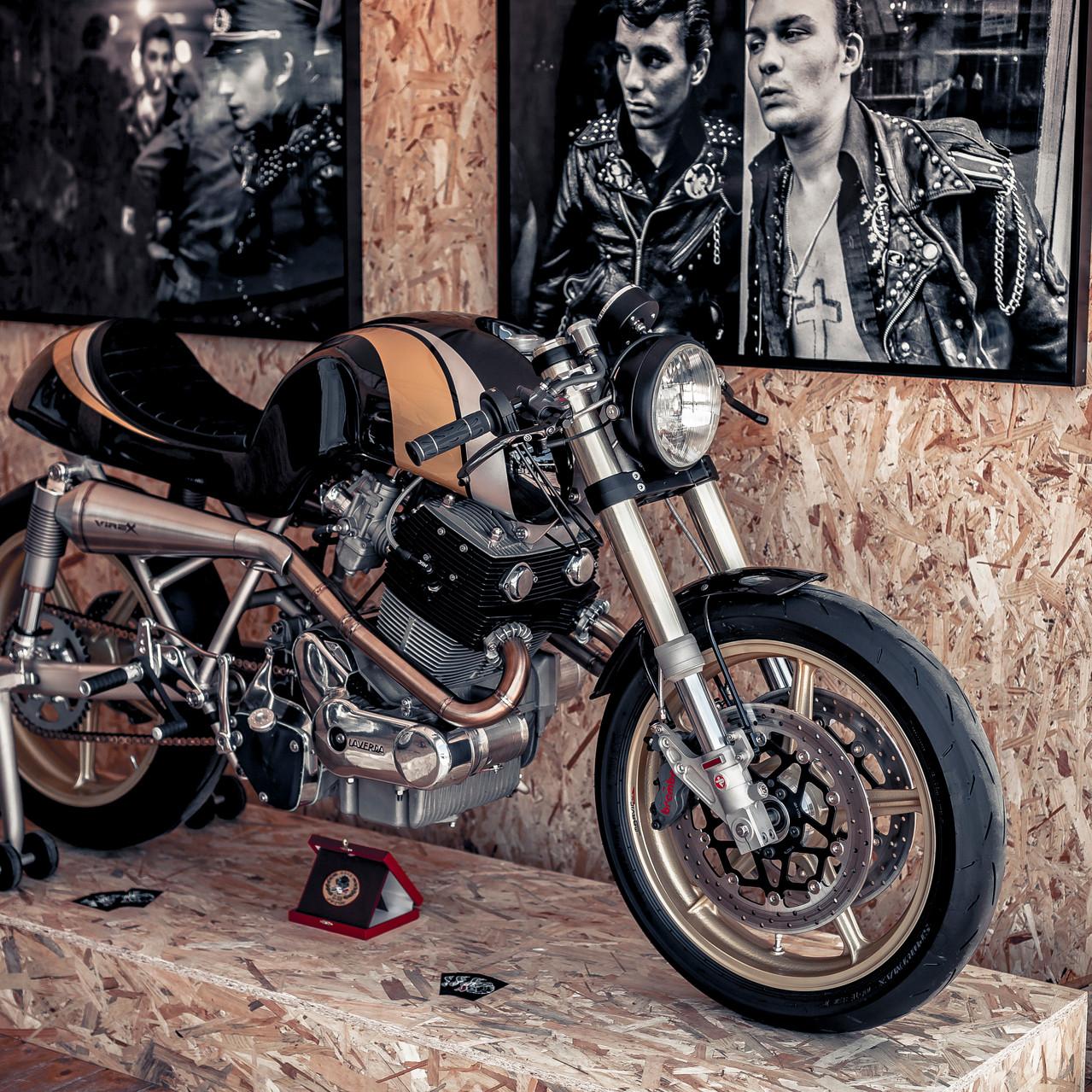 Moto vintage prépa