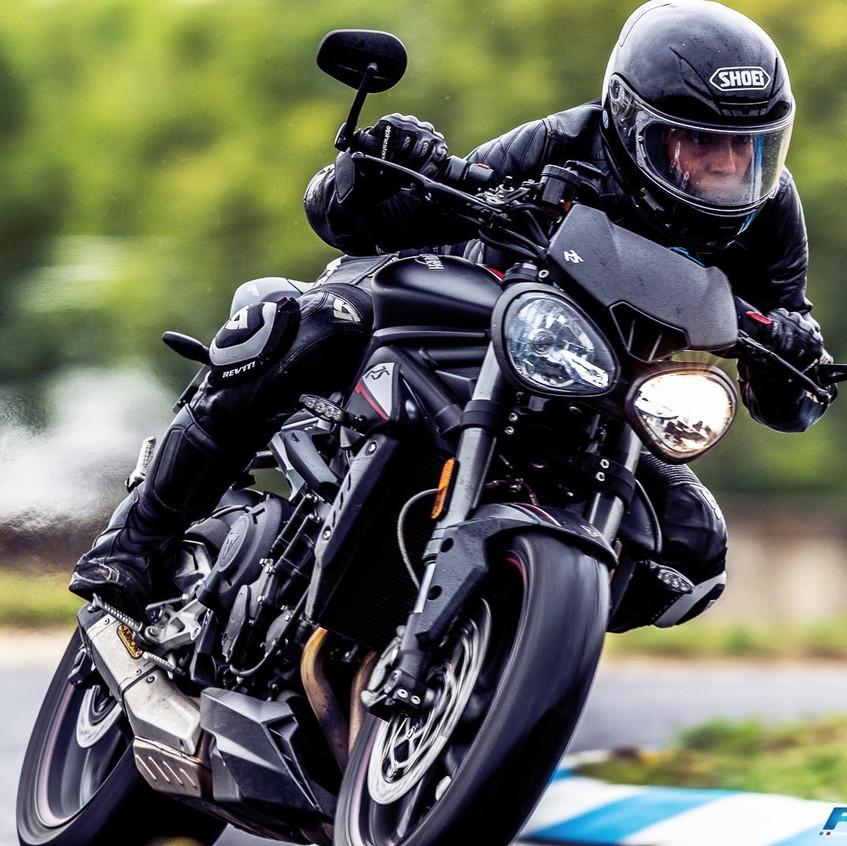 motarde moto girl