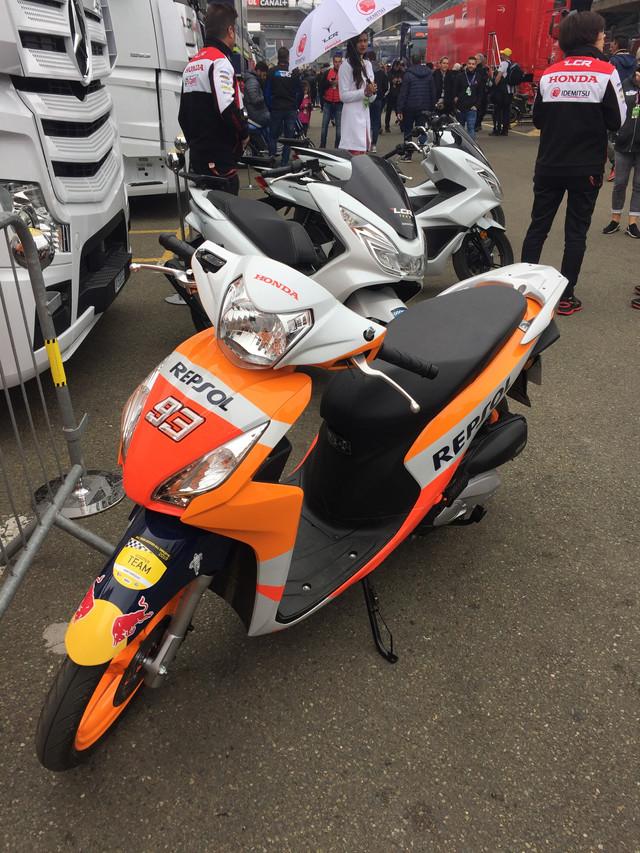scooter moto gp Marquez
