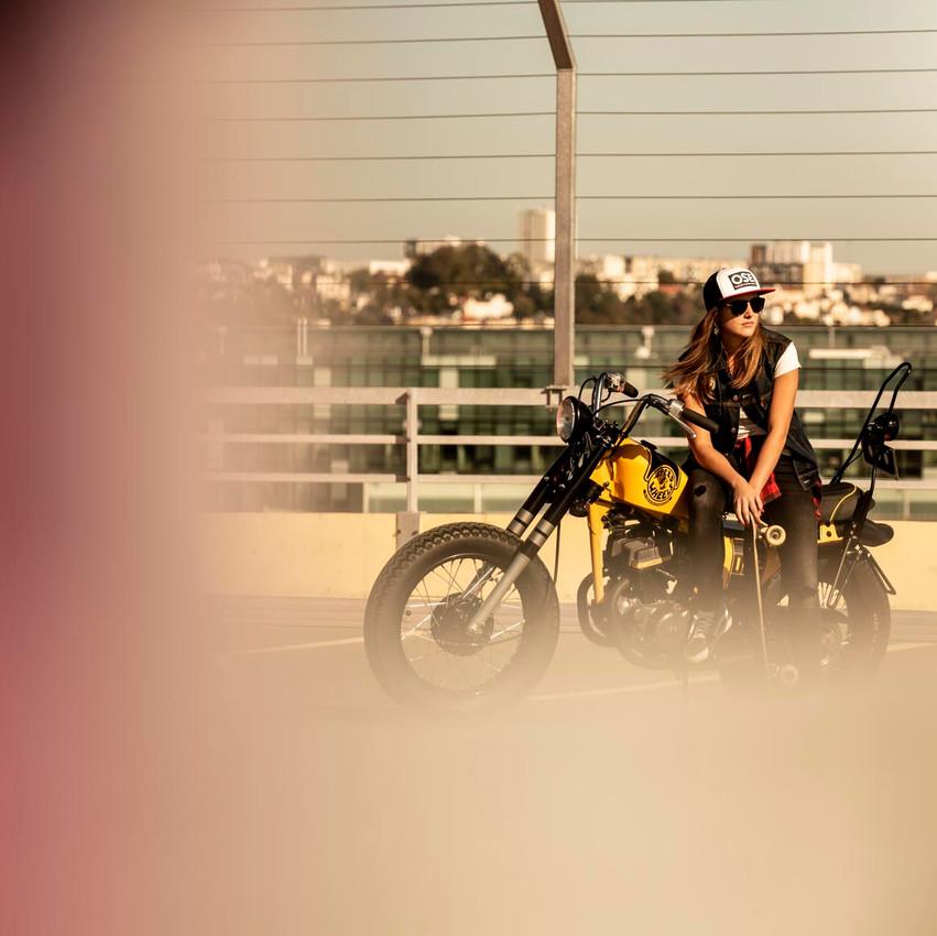 moto motarde