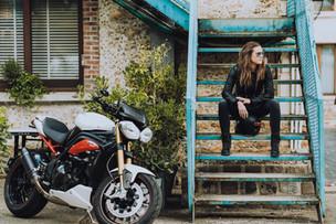 Cosmo Connected : Le feu stop de casque moto connecté