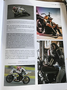 le blog d'une motarde