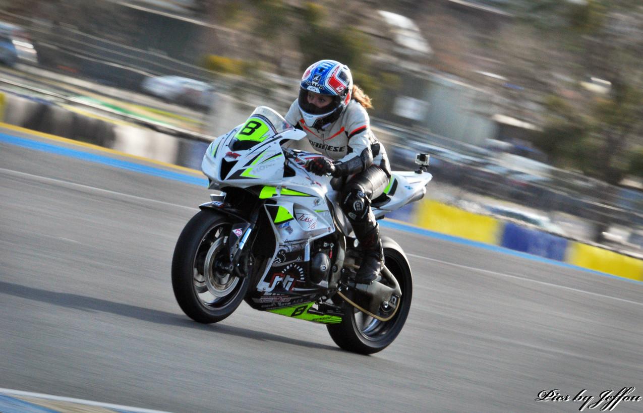 Roulage CBR 600 RR Le Mans