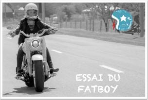 Essai du Fat Boy Harley Davidson