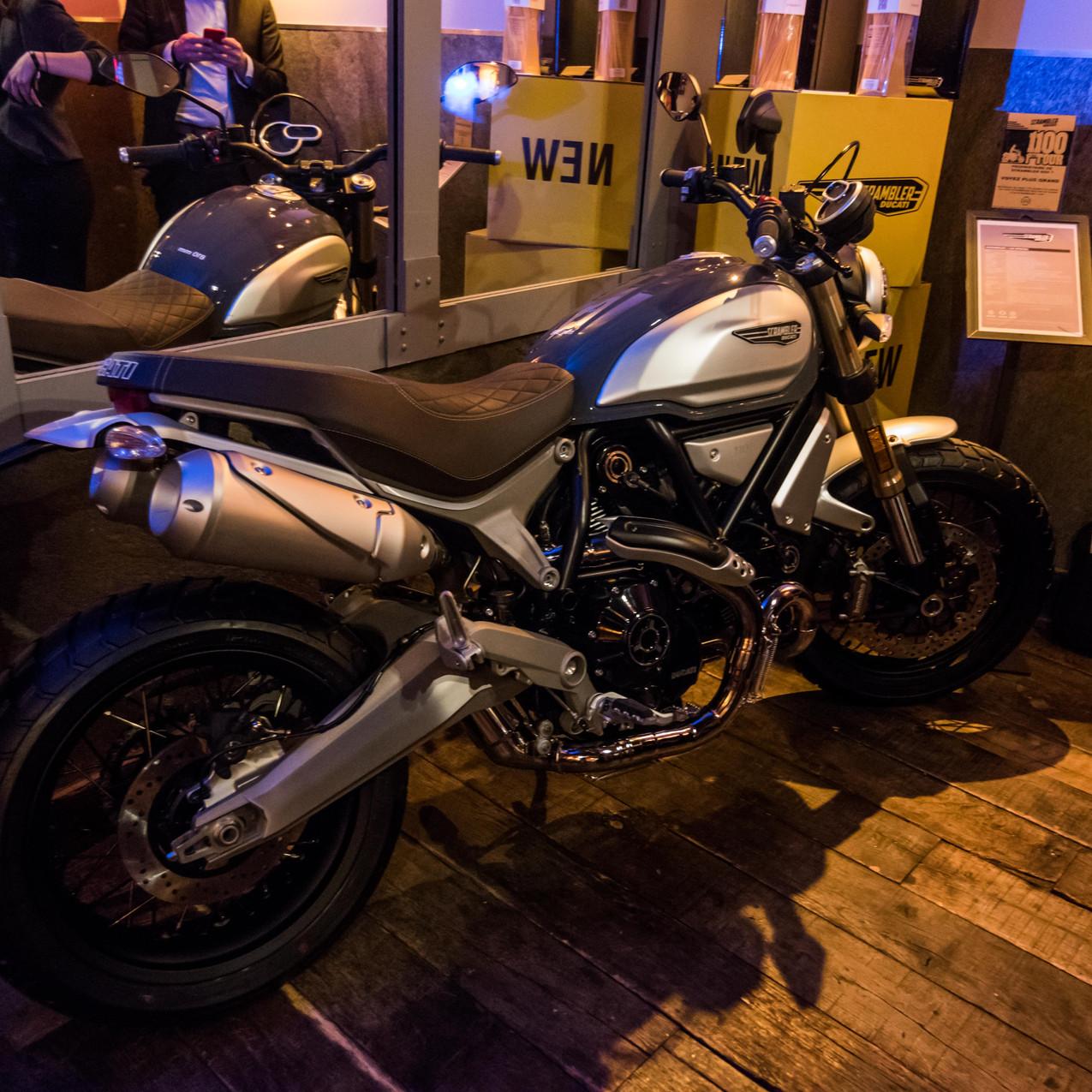 Nouveau Ducati Scrambler 1100