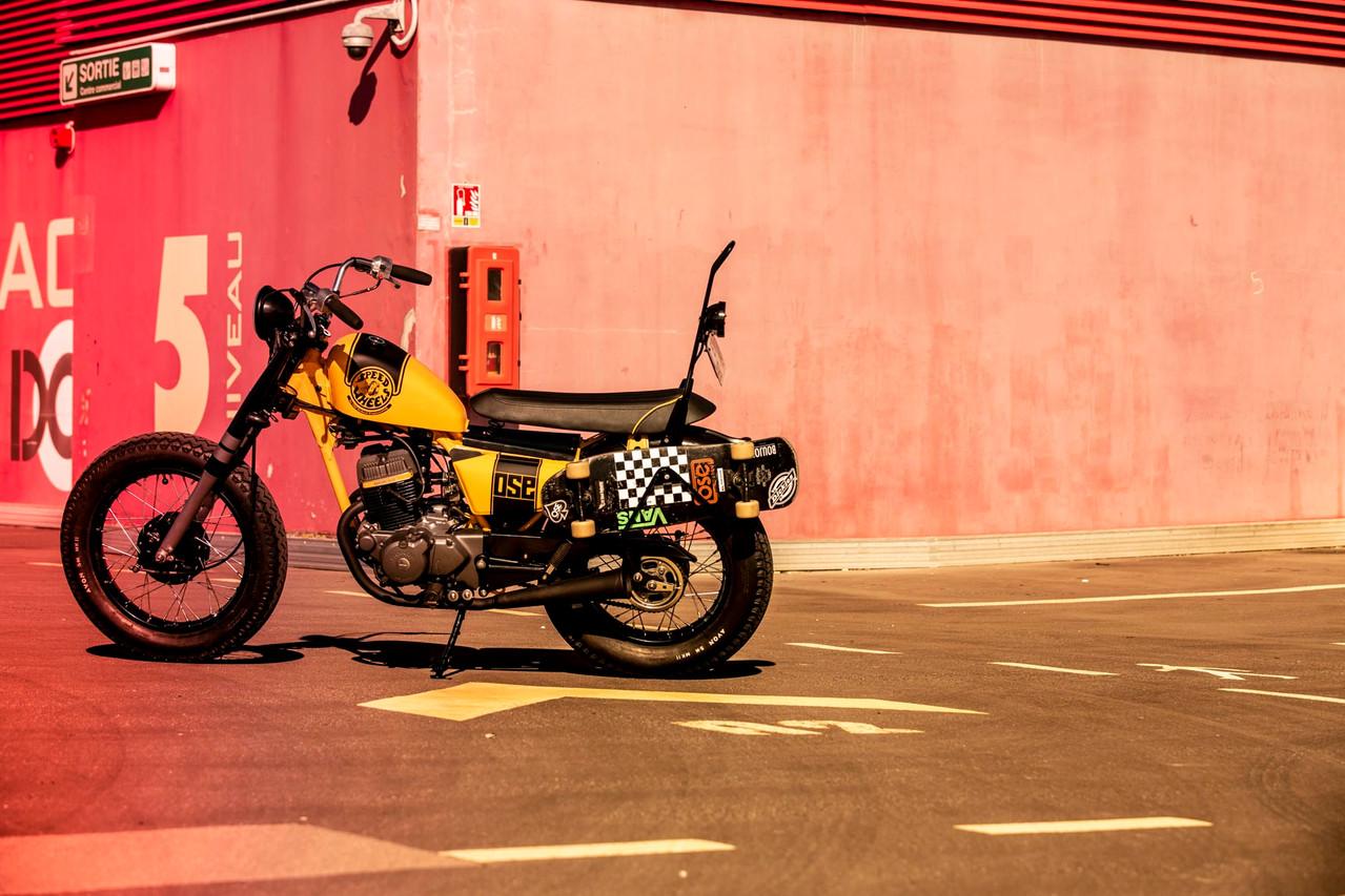ose Kustom moto 125 rouen