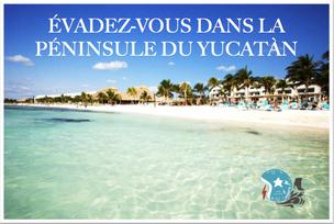 ROUE'TINE : Péninsule du Yucatán & Riviera maya