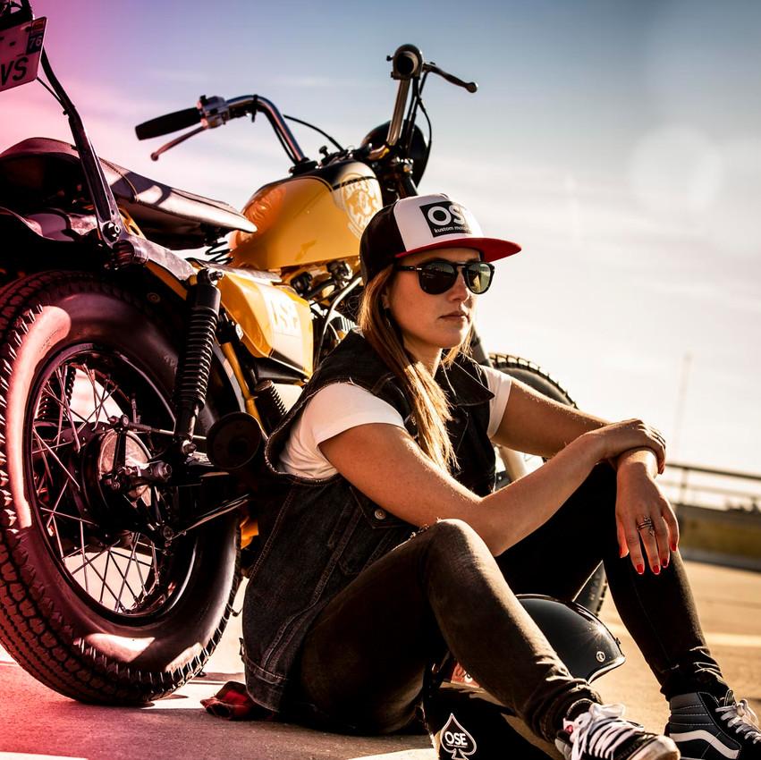 moto style chopper