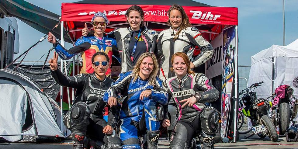 Training Women's Cup avec Riding Sensation sur le Circuit Carole
