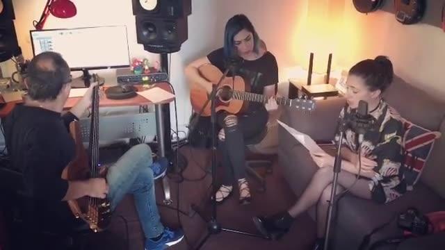 Ya está el #cover que hicimos de #Saturno de Pablo Alborán con Dai Liparoti y @masterfrenc 😍  Vídeo completo 👉🏻👉🏻👉🏻 https://youtu.be/e02guE4GCa4   #songwriter #newmusic #singer #singersongwriter #bluehair #pabloalboran #dailiparoti #monday #video