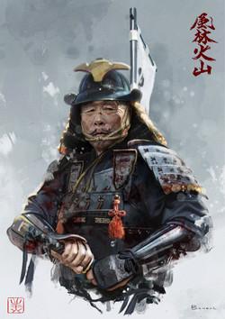 Samurai character c
