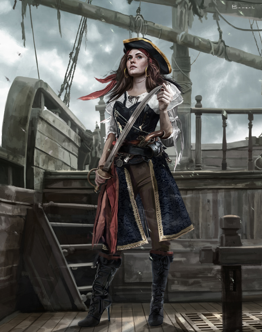 Pirates Girl
