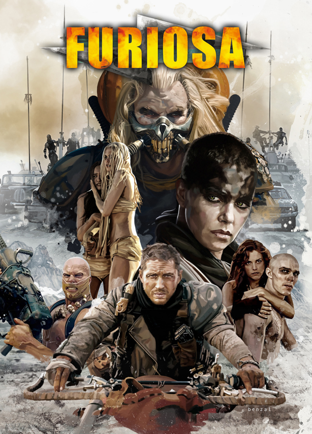 Furiosa comic book cover