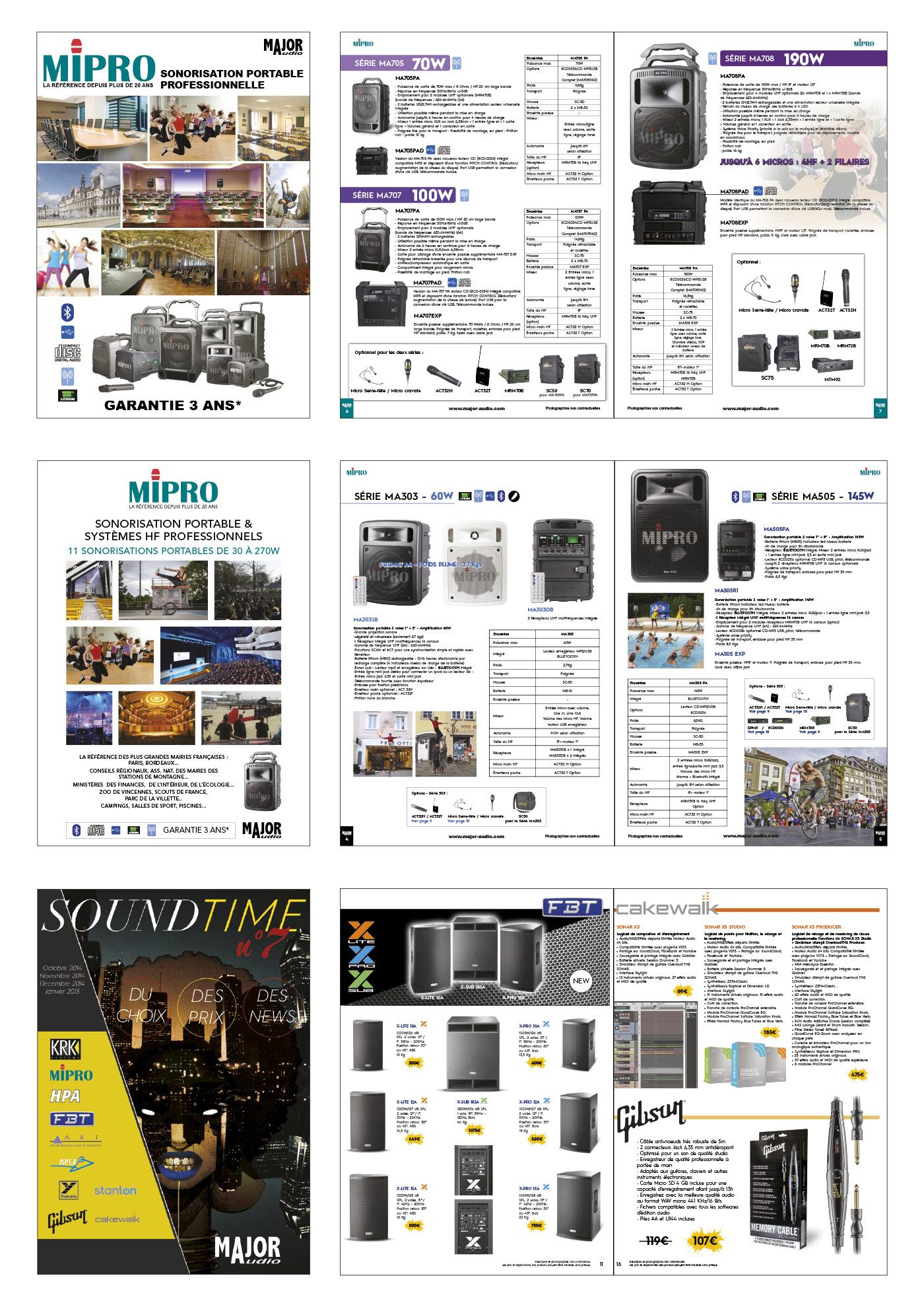 Catalogues et magazine