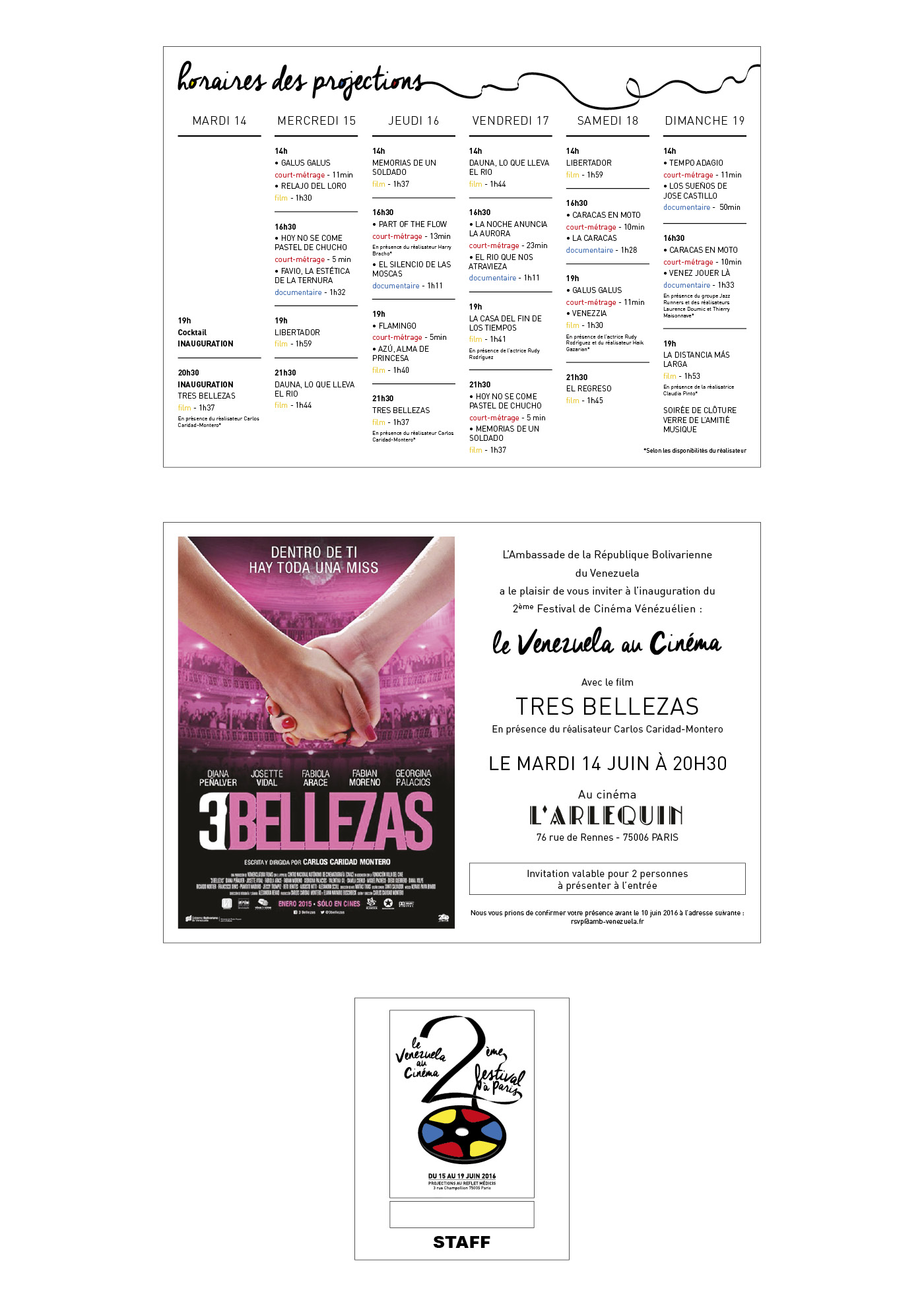 Festival_2016 - Flyer, invitation