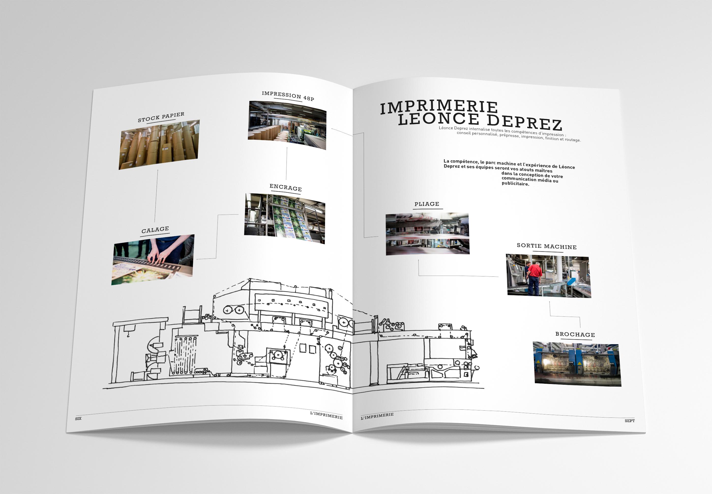 Brochure Léonce Déprez