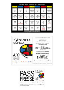 Festival_2015 - Flyer, invitation