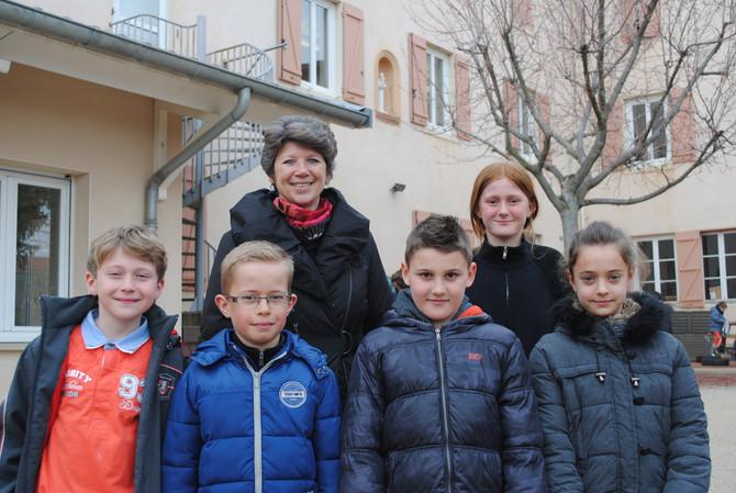 Rencontre avec les élèves de l'école Saint Joseph de Messimy