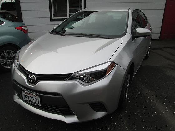 2015 Toyota Corolla $14350.