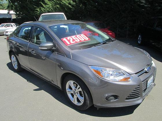 2013 Ford Focus $12500