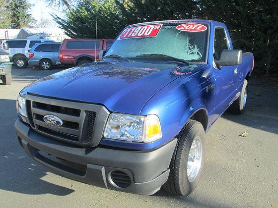 2011 Ford Ranger  $11900.