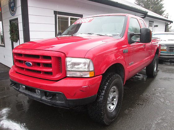 2004 Ford F250 $13999.
