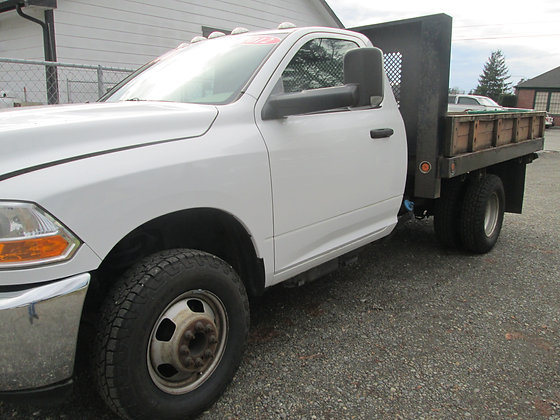 2012 Dodge Ram Flatbed More pictures when finished