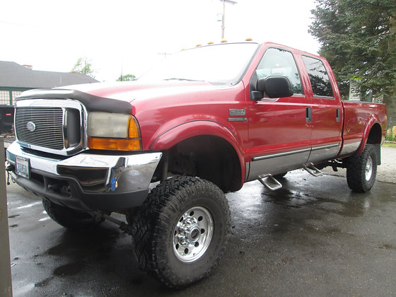 2000 Ford F350 $15900.