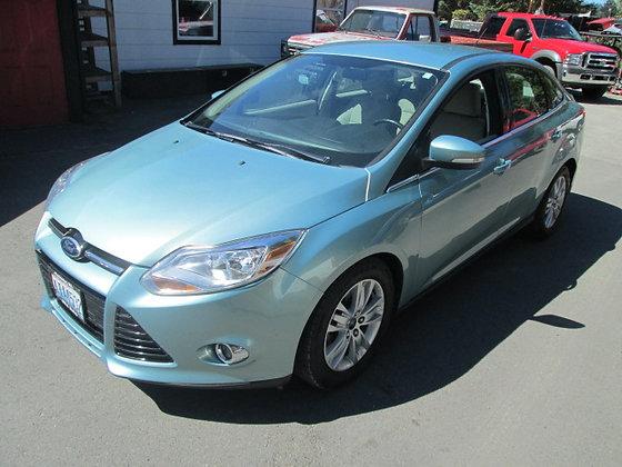 2012 Ford Focus $10500