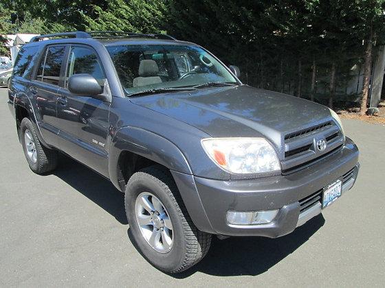 2004 Toyota 4Runner $10500