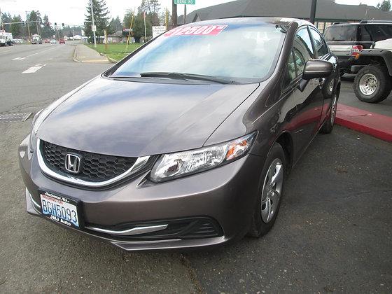 2014 Honda Civic LX $12500.