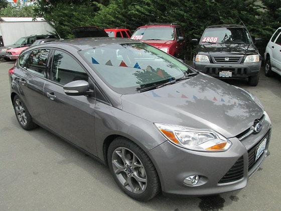 2013 Ford Focus $12,500