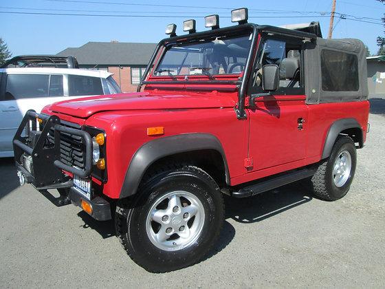 1994 Land Rover Defender 90 - 28k Original miles! -$55,000