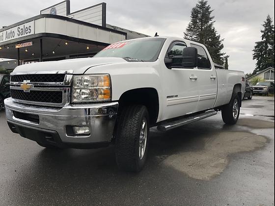 2012 White Chevy Silverado