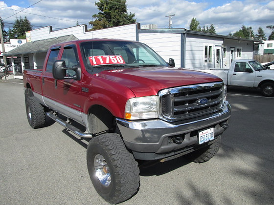 2002 Ford F350 11750