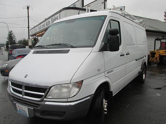 2005 Dodge Sprinter 3500 Cargo Van