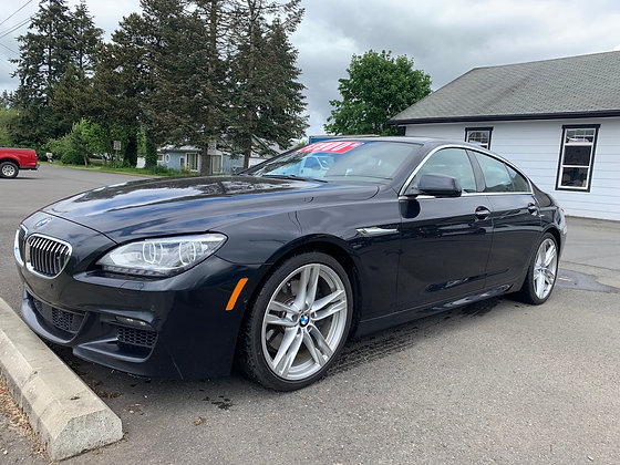 2014 BMW 650xi Gran Coupe
