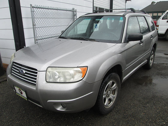 2006 Subaru Forester  $6550.