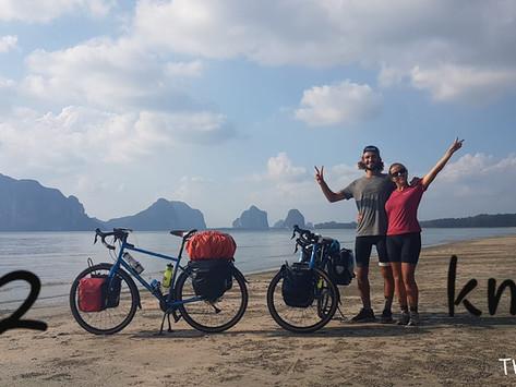 Remontée de la péninsule Thaïlandaise