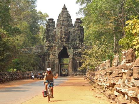 Traversée du plateau Khmer