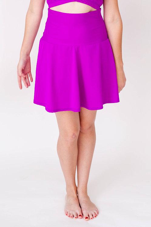 Solid Circle Skirt