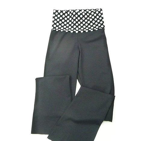Print Waist Band Yoga Pants