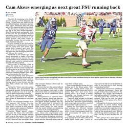 Cam Akers emerging