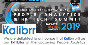 Kalibrr is participating at the upcoming People Analytics & HR Tech Summit – Jakarta, Indonesia.
