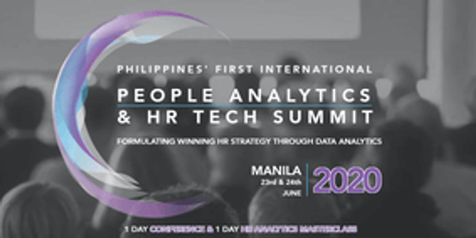 People Analytics & HR Tech Summit with HR Analytics Masterclass