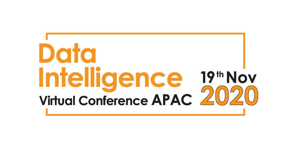 Data Intelligence Virtual Conference   APAC 19th Nov 2020
